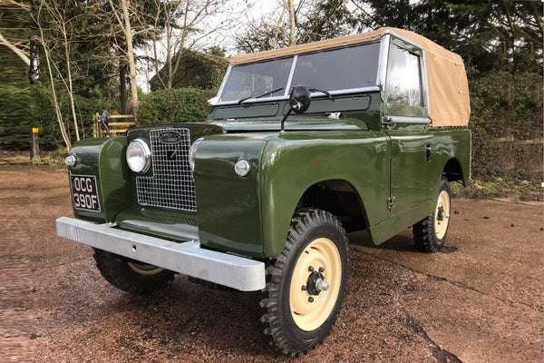 1968 Land Rover Series 2a 2.25 Petrol Soft Top