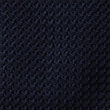 Dark Navy Grenadine Necktie