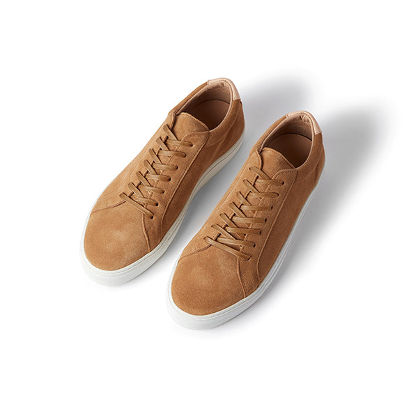 Tan Suede Series 1 Sneakers