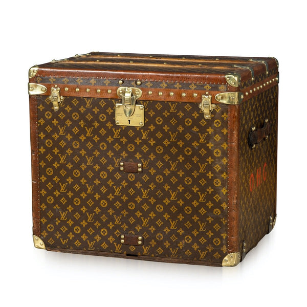 Louis Vuitton Hat Trunk In Monogram Canvas, Paris C.1920