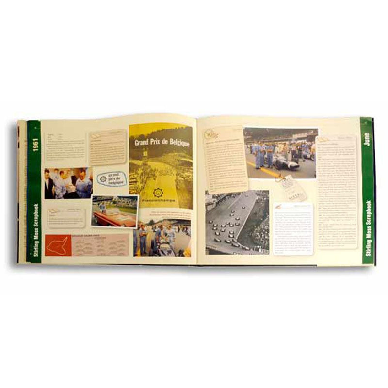 Stirling Moss Scrapbook 1961 (Limited Edition)