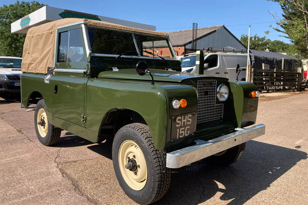 1968 Land Rover Series 2a