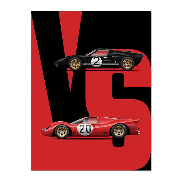 Battle of the Heavyweights - Ford vs Ferrari