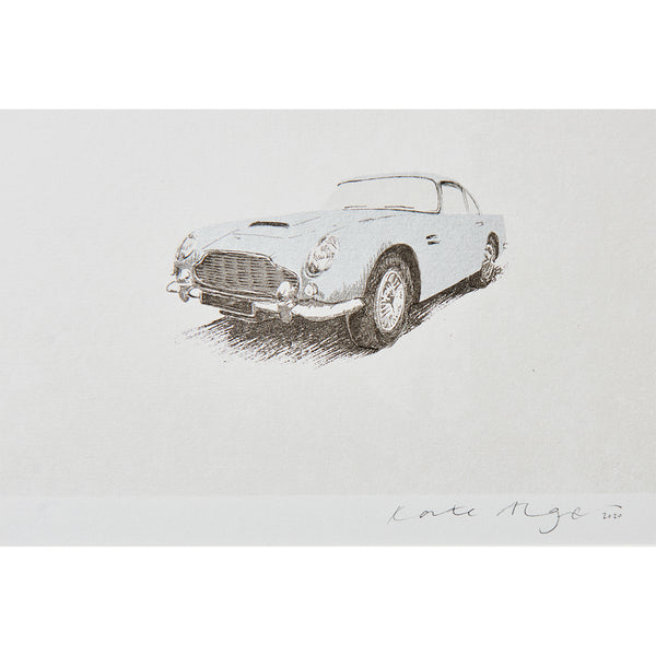 Aston Martin DB5 Screenprint