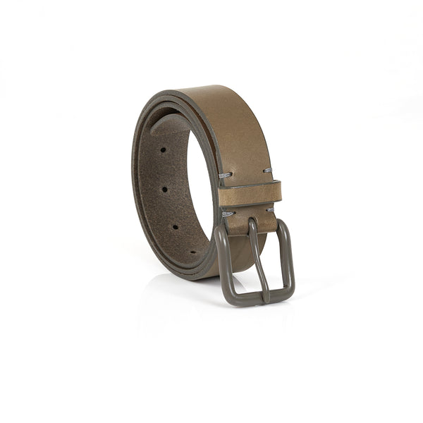 Modernist Belt in Form Grey with Grey