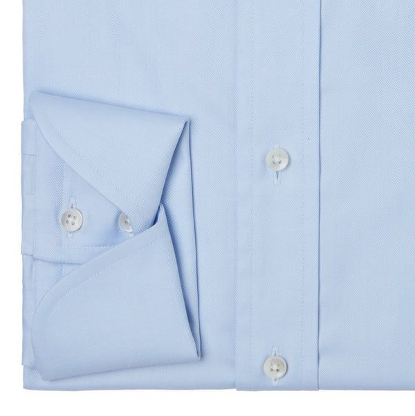 Blue Cocktail Cuff Shirt