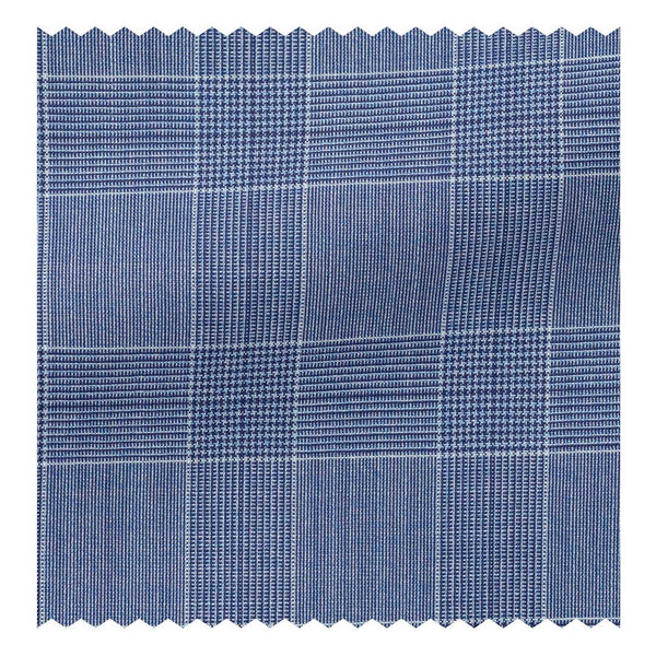 Cobalt (130'S) Glen Plaid