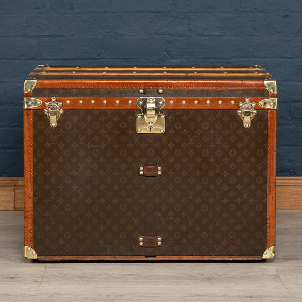 Louis Vuitton Hat Trunk In Monogram Canvas, France C.1930