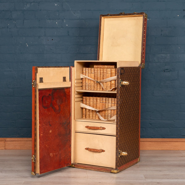 "Extremely Rare Louis Vuitton ""Stokowski"" Trunk c.1940"