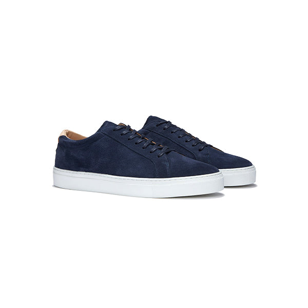 Navy Suede Series 1 Sneakers