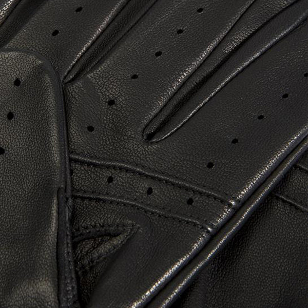 "Black ""Spectre"" Leather Driving Gloves"