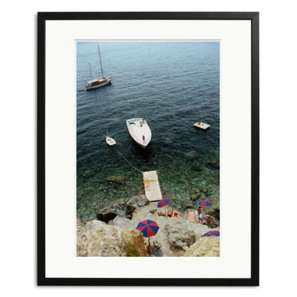 Slim Aarons 'Speedboat Jetty'