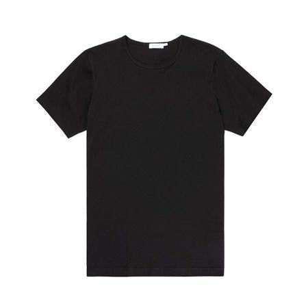 Black Superfine Cotton T-Shirt