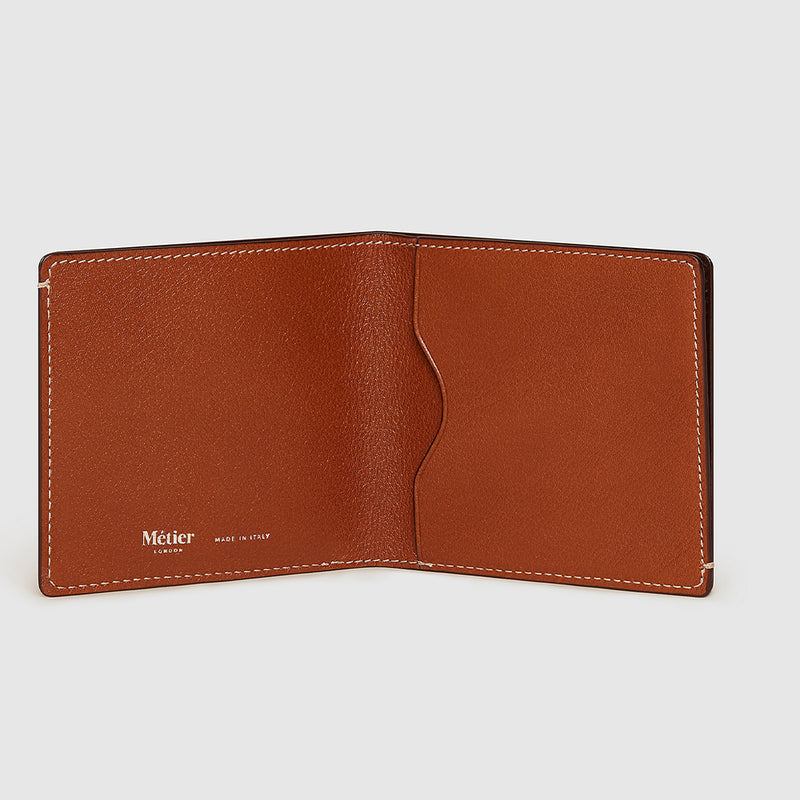Cognac Buffalo Thin Billfold
