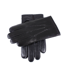 Dents Touchscreen Cashmere Lined Leather Gloves  |  Anthony Sinclair