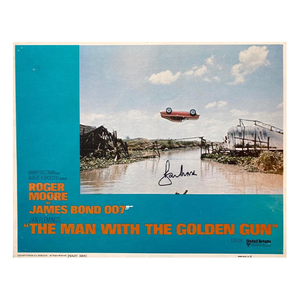 The Man With The Golden Gun Signed Lobby Cards (1974)