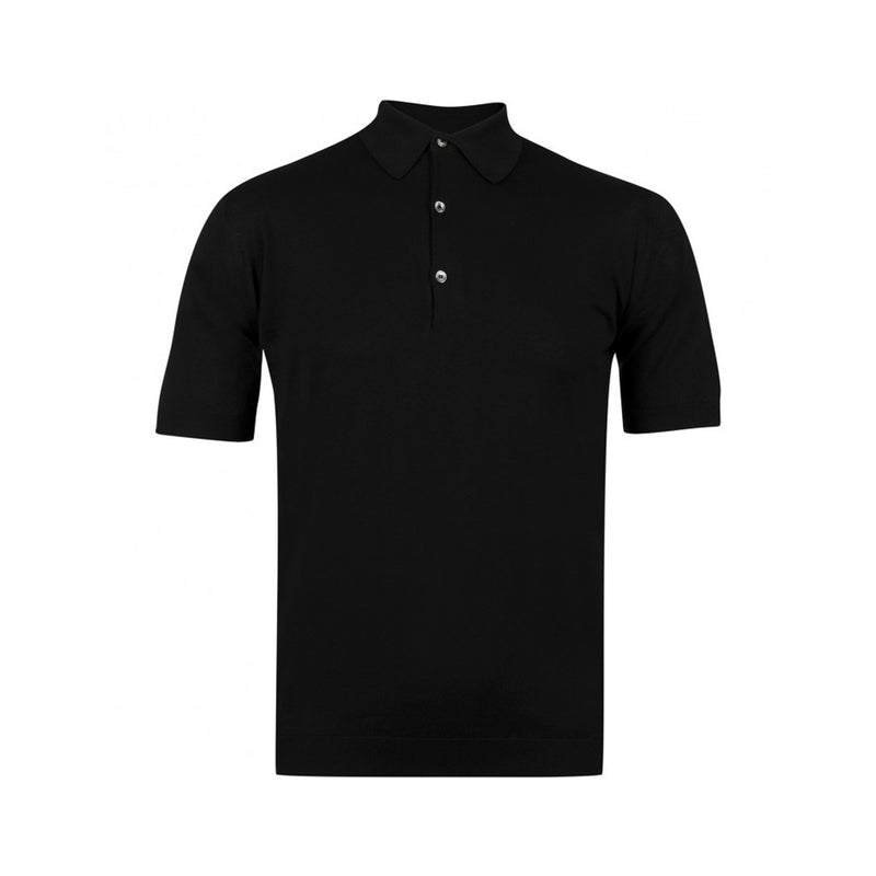 Black Adrian Polo Shirt