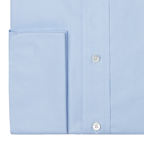 Blue Double Cuff Shirt