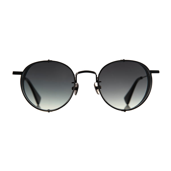 C&P x Motoluxe Gunmetal Side Shield Sunglasses