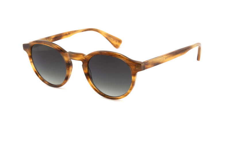 Honey Stripe Alex Sunglasses