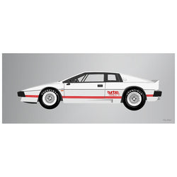 1981 Lotus Espirit Turbo White