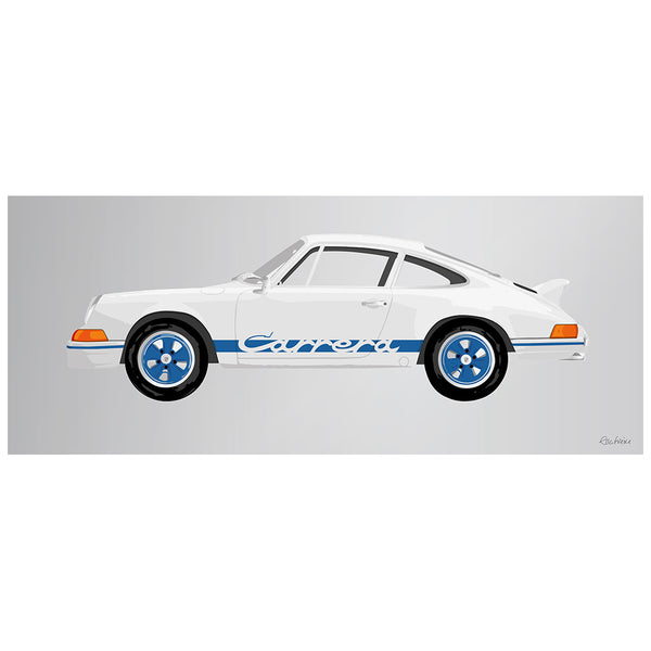 1973 Porsche Carrera RS Blue