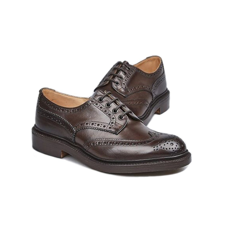 Espresso Burnished Bourton Country Shoe