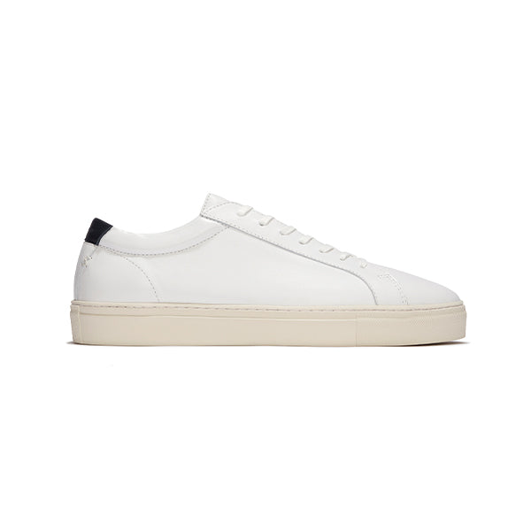 Vintage White Leather Series 1 Sneakers