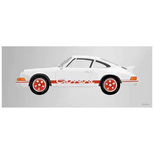1973 Porsche Carrera RS Red