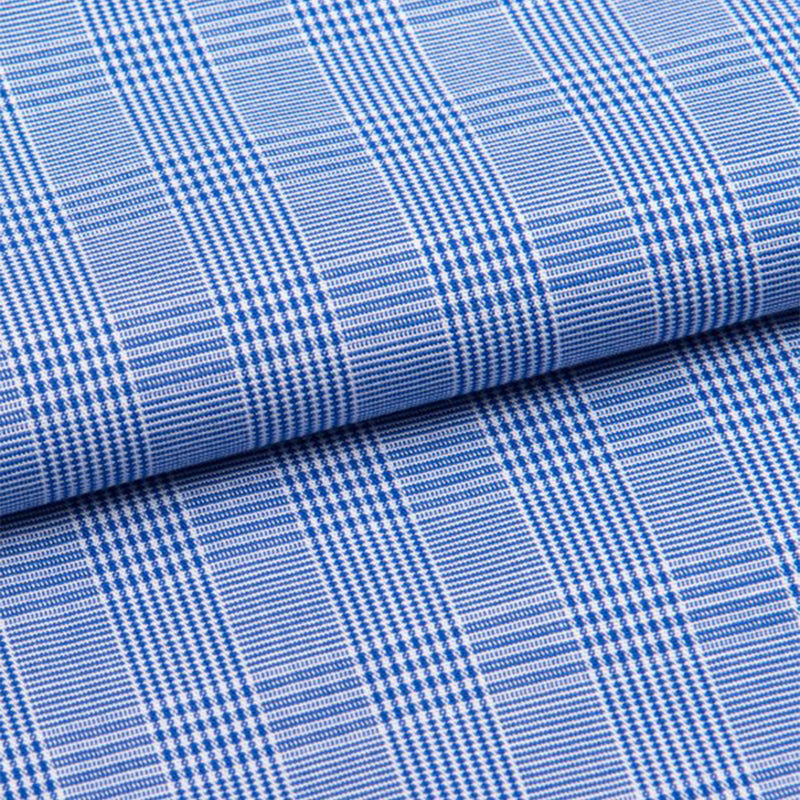 Felsted 3 Blue Check Piped Brushed Cotton Classic Fit Pyjamas