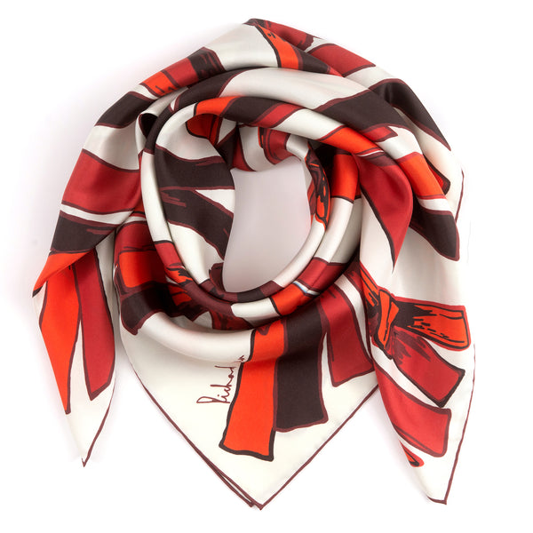 Sunset Nexus Silk Scarf