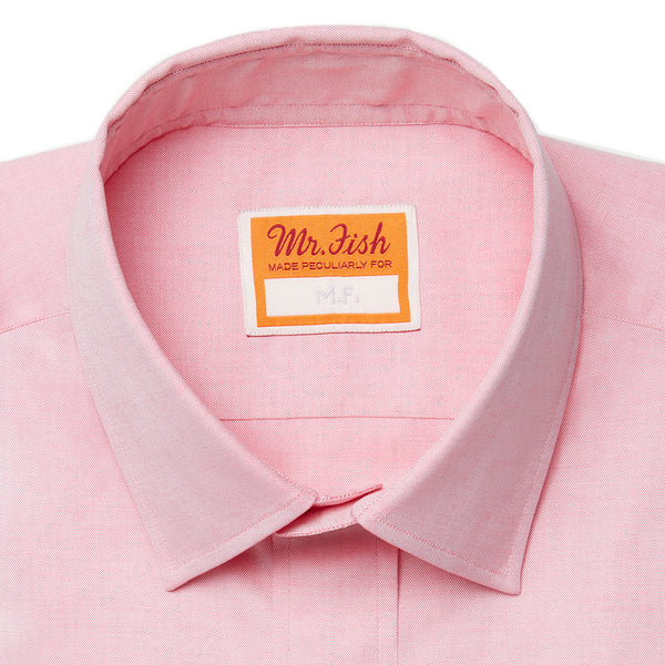 Candy Pink Cotton Shirt