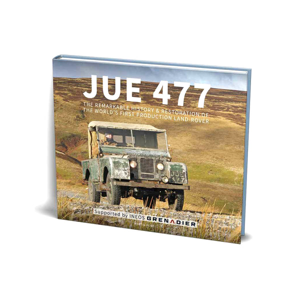 JUE 477 - The world's first production Land-Rover (history and restoration)