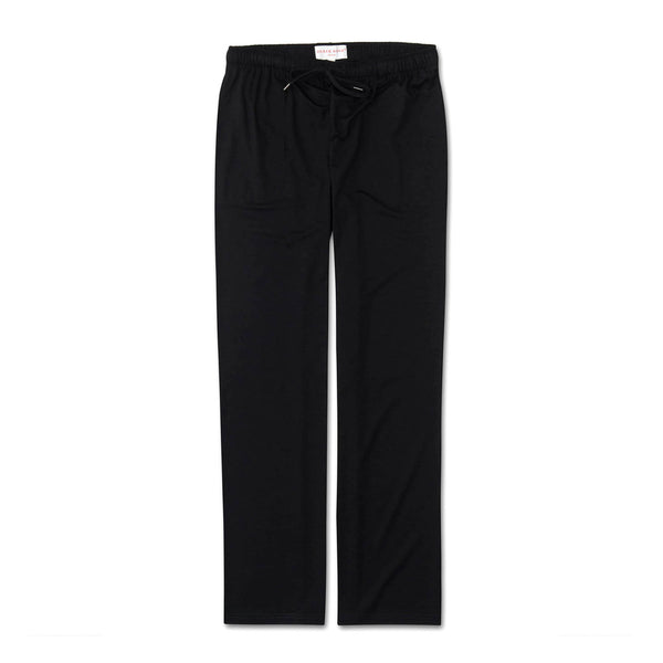 Basel Black Jersey Lounge Trousers