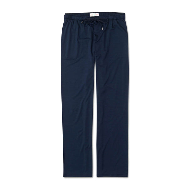 Basel Navy Jersey Lounge Trousers