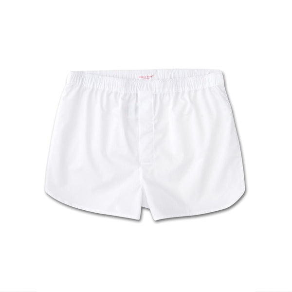 Savoy White Modern Fit Boxer Shorts