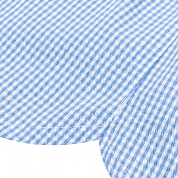 Gingham Blue Modern Fit Boxer Shorts