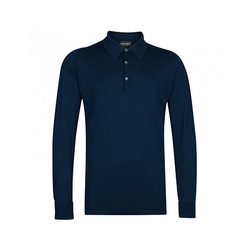 Indigo Finchley Long Sleeved Polo