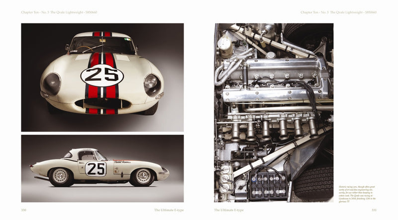 Ultimate E-type - The Competition Cars (Limited Edition)