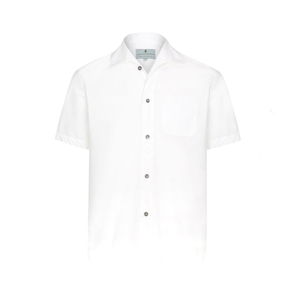 White Zephyr Short Sleeve Marina Shirt