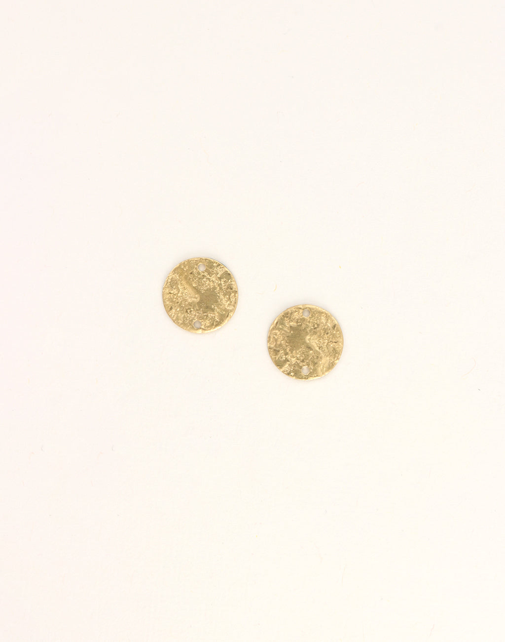 Nugget Circle, 18x13mm, (2pcs)