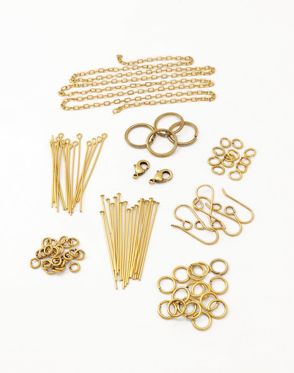 14K Gold Antique Basics Findings Kit