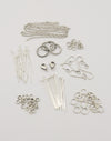 Sterling Silver Antique Basics Findings Kit