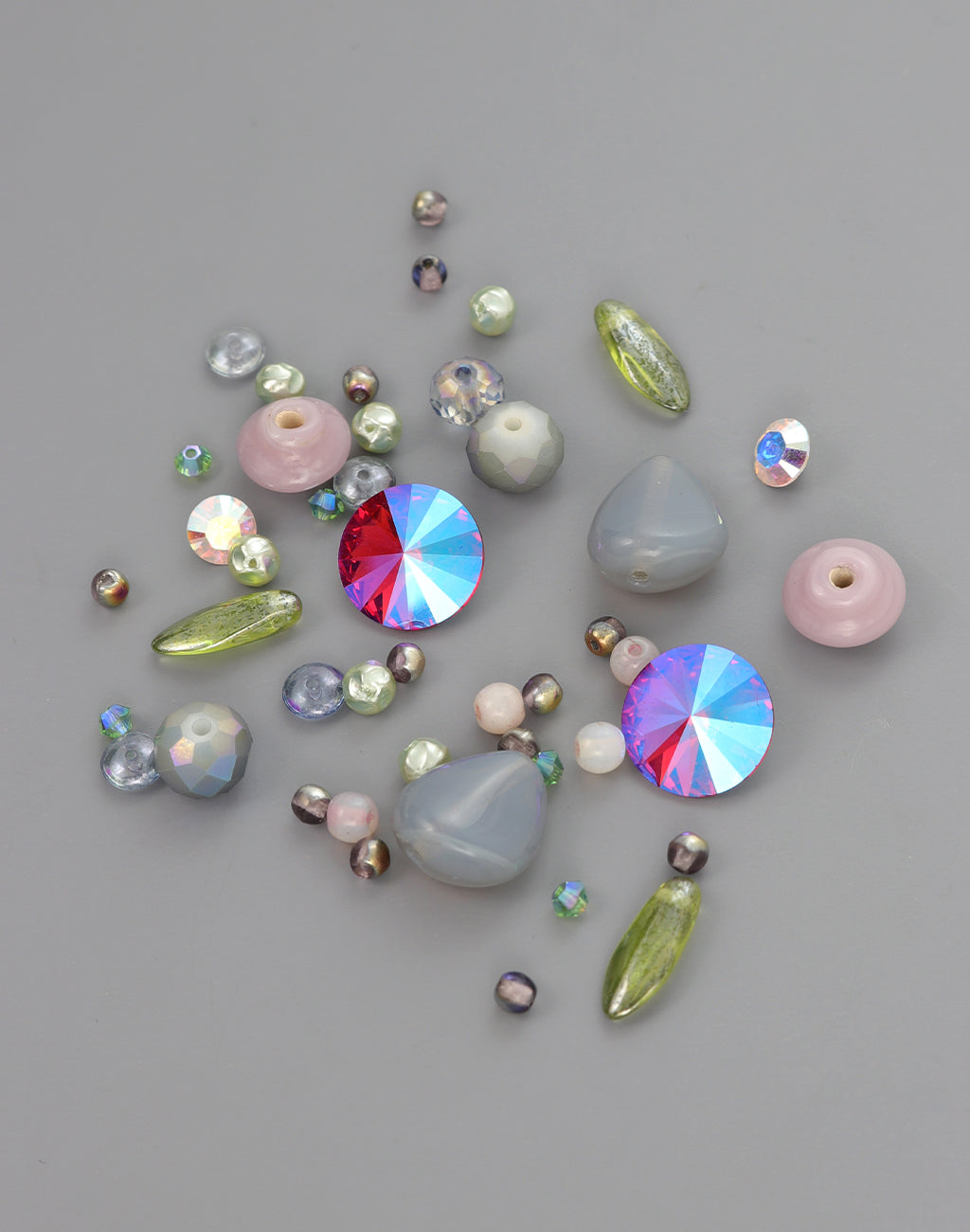 Luminous Heart Bead Mix