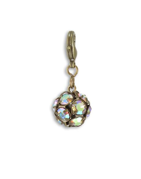 Crystal Gypsy Bauble 35x14mm