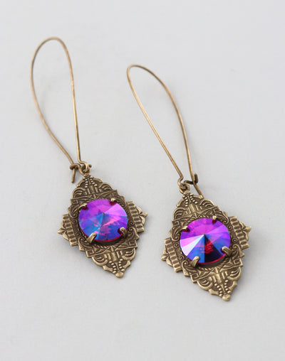 Amulet Revelation Earrings, (1 pair)