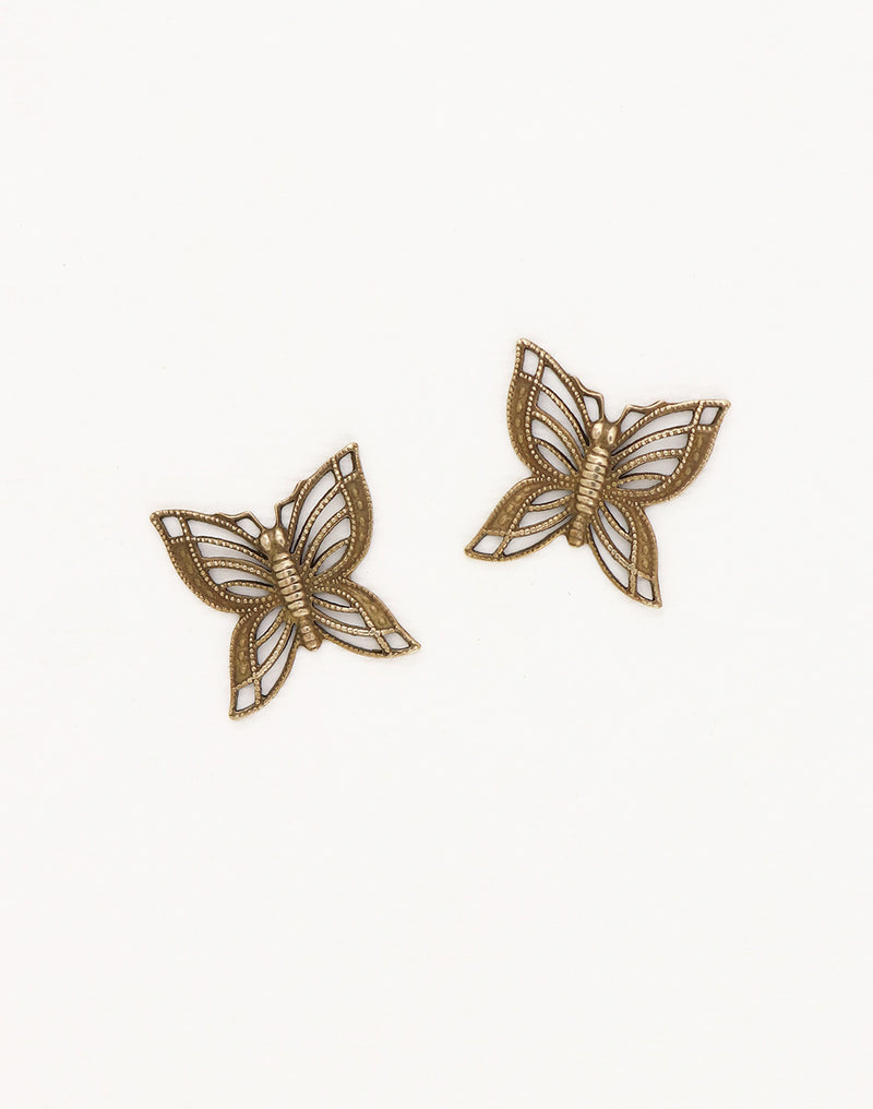 Filigree Butterfly, 16x16mm, (2pcs)