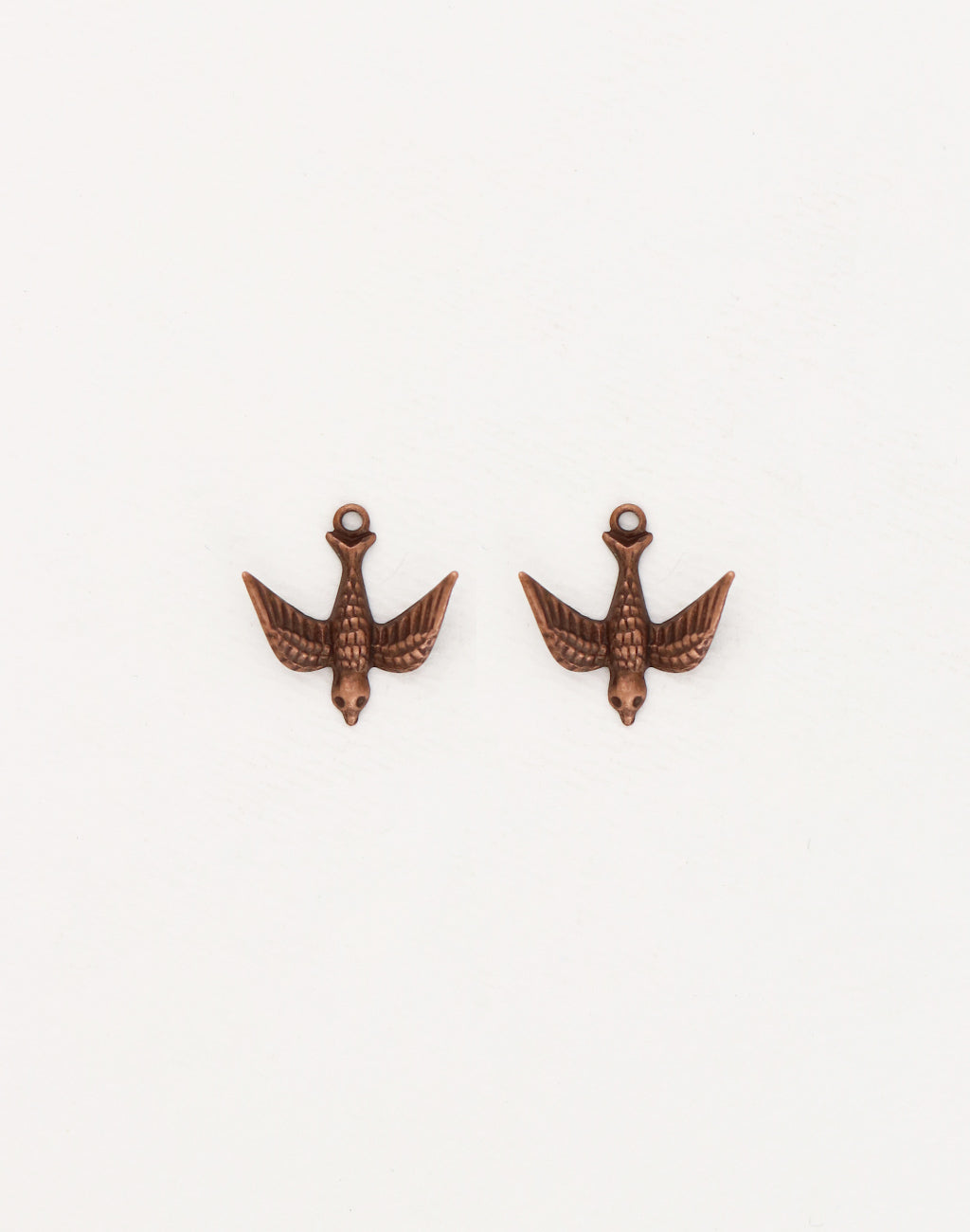Watchful Bird, 17mm, (2pcs)