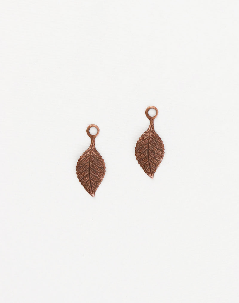 Spring Green Leaf, 23x9mm, (2pcs)