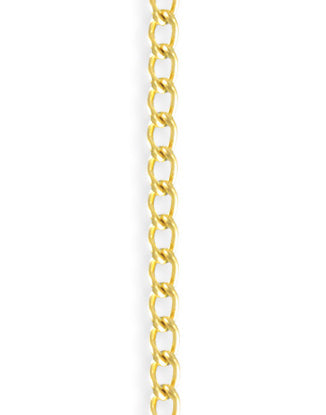 Curb Chain, 3.4x5.1mm, (1ft)